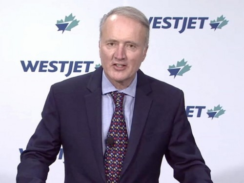 """Ottawa's aid package for Air Canada """"bittersweet,"""" says WestJet CEO Ed Sims"""