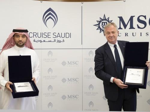 MSC Cruises will sail into Saudi Arabian waters for winter 2021/2022 season