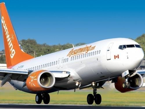 Sunwing announces winter flight schedule for Atlantic Canada