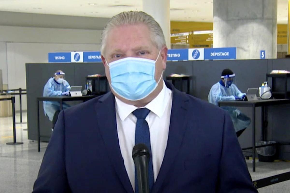Ontario calls for mandatory pre-departure PCR nasal swabs for domestic air travel