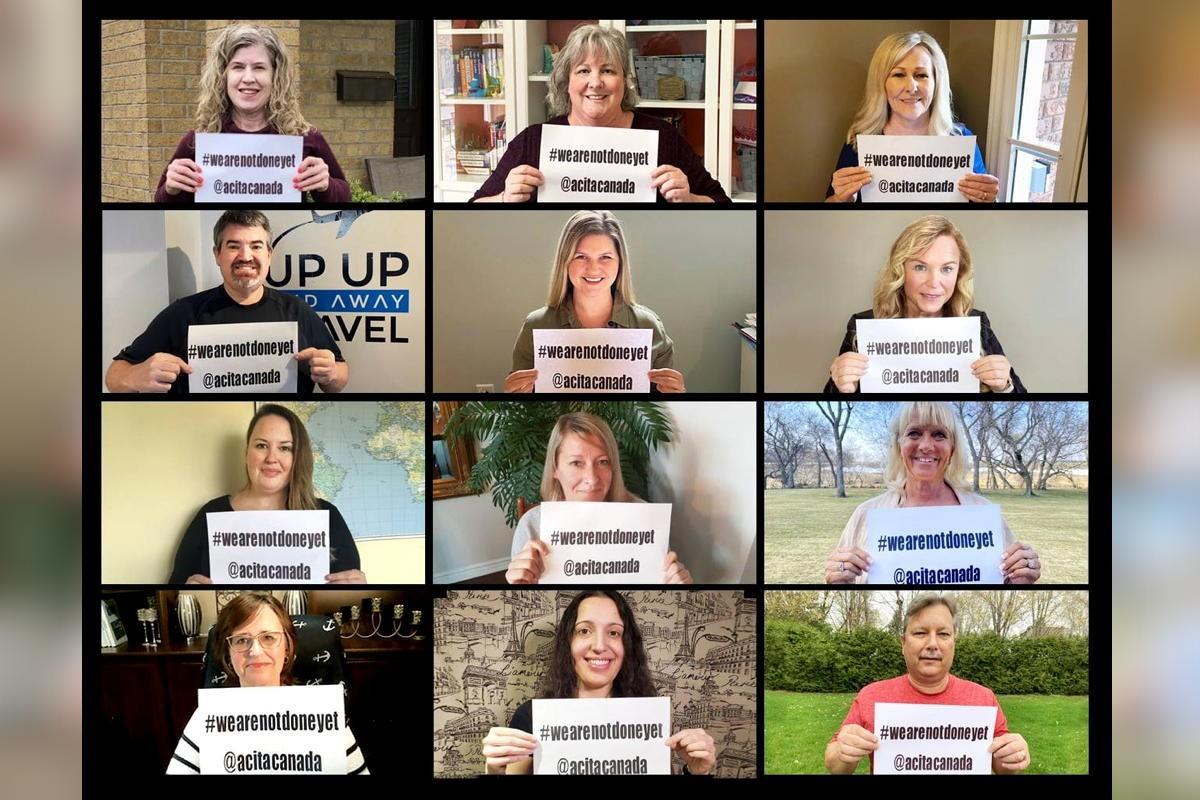 #WeAreNotDoneYet: ACITA social media campaign urges travel advisors to keep fighting