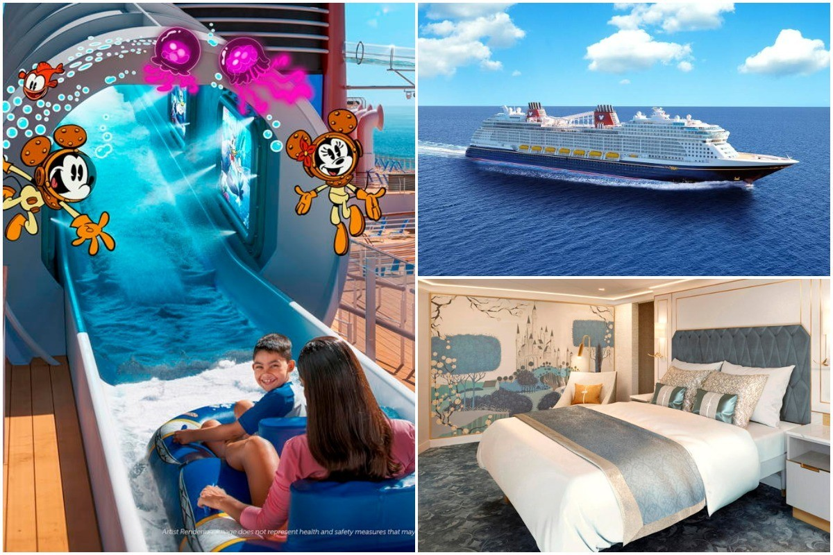 PHOTOS: New Disney Wish cruise ship promises enchantment, new attractions
