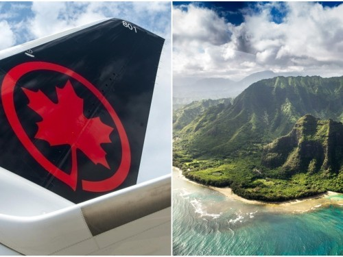 Air Canada is flying non-stop to Hawaii this winter from YUL, YYZ, YYC & YVR