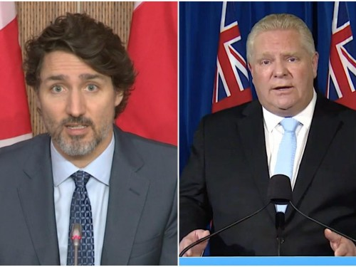 """Trudeau """"frustrated"""" with Ford for making border requests without specifics"""