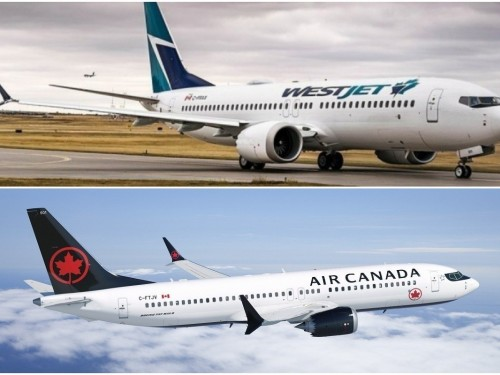 """Air Canada, WestJet """"might have been better off"""" grounding more flights, says Porter chairman"""