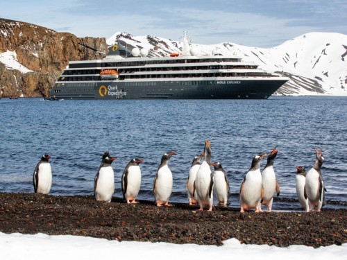 Quark Expeditions is TravelBrands' newest cruise line partner