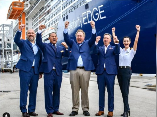 """""""The feels are the real deal!"""" Celebrity Cruises returns to service in the U.S."""