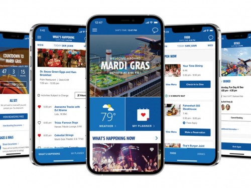 Carnival expands HUB App to include food/drink features, health & safety info