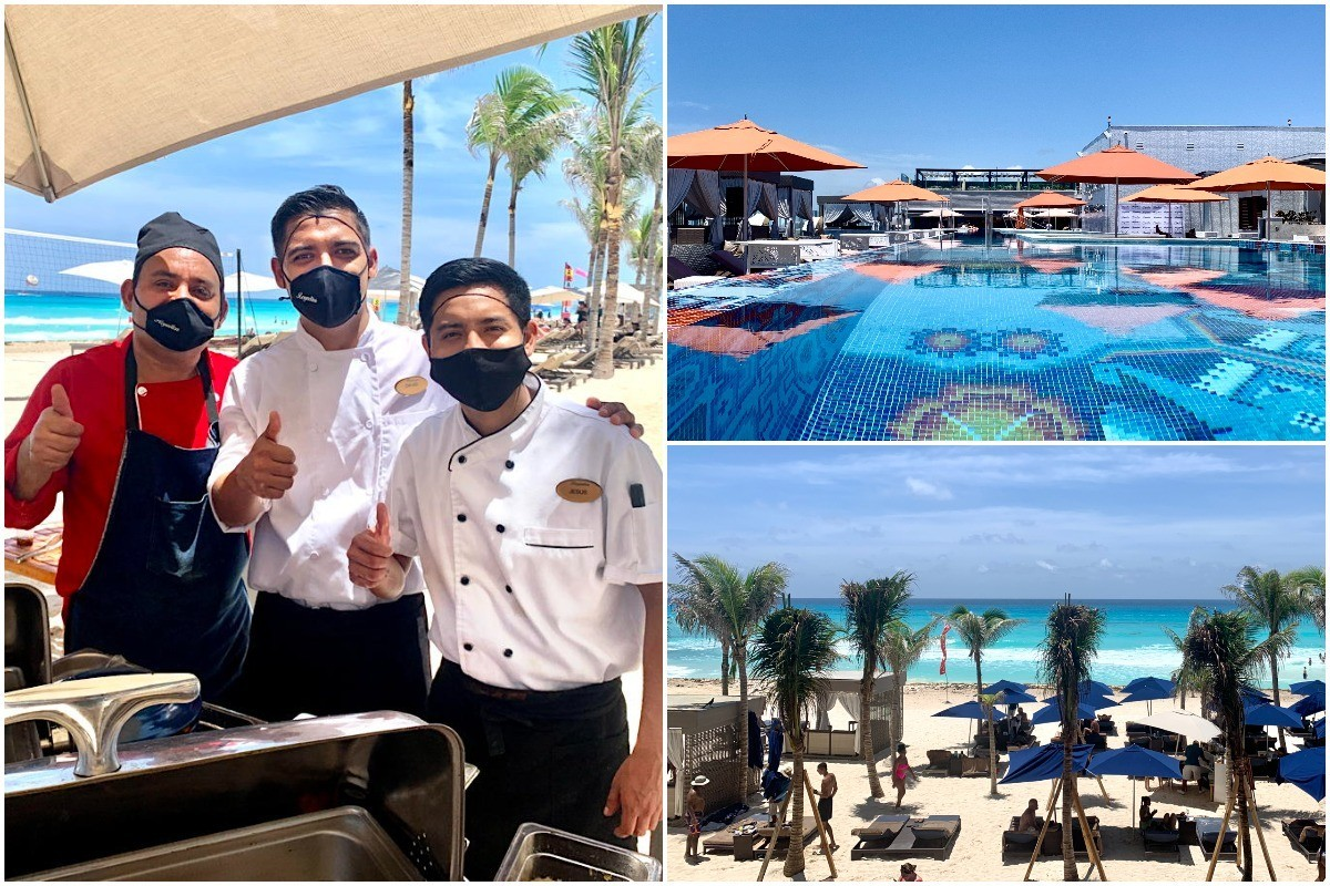 On Location: PAX explores mid-pandemic travel at Royalton CHIC Suites Cancun with Sunwing