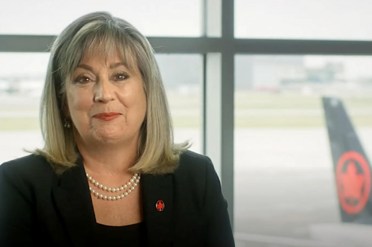 """VIDEO: """"We will continue to adapt"""": A message from Air Canada's Lucie Guillemette, EVP/COO"""