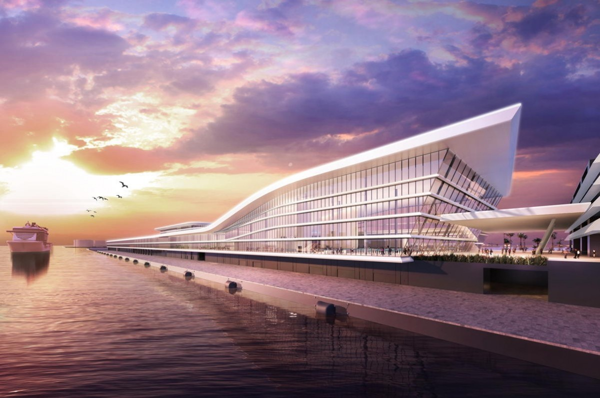 """MSC Group unveils plans for """"mega cruise terminal"""" at PortMiami"""