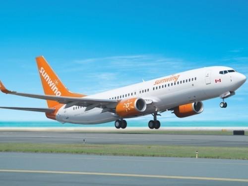 Sunwing cancels all summer domestic flights