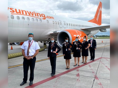 Back in business: Sunwing resumes flights to select sun destinations