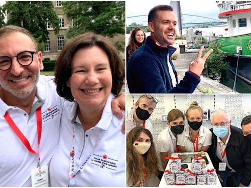 On location: Travel pros discover Basel, Switzerland at Air Canada Race 2021!