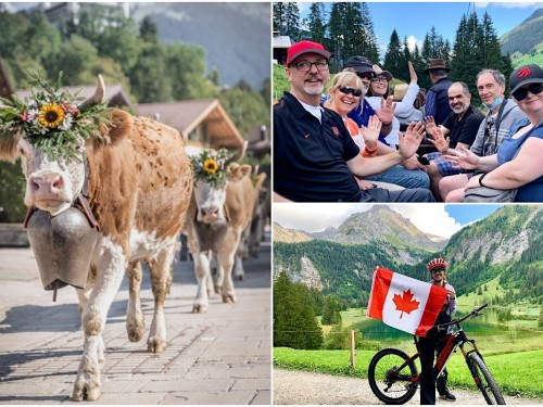 """On location: PAX joins agents in Gstaad, Switzerland where """"you're not a tourist, you're a temporary local"""""""