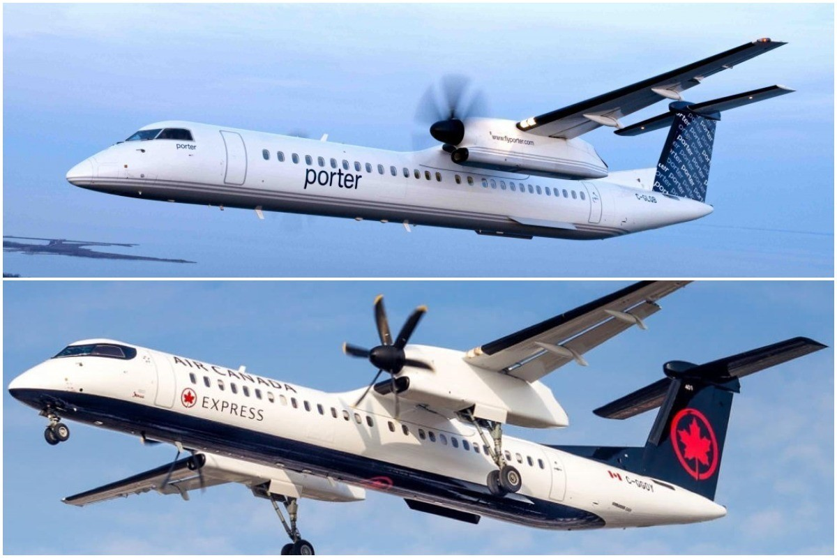 Porter, Air Canada resume flights out of Billy Bishop