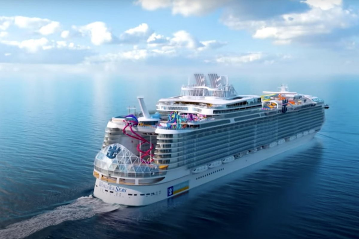 """Wonder of the Seas, """"world's largest cruise ship,"""" to debut in March 2022"""