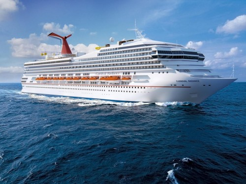It's official: Carnival Victory renamed Carnival Radiance