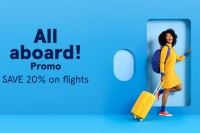 All aboard! Save 20% on Air Transat base fares to U.S., South & within Canada