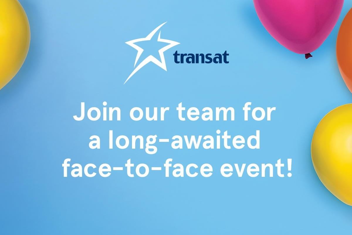 Transat invites travel agents to in-person events in Ontario