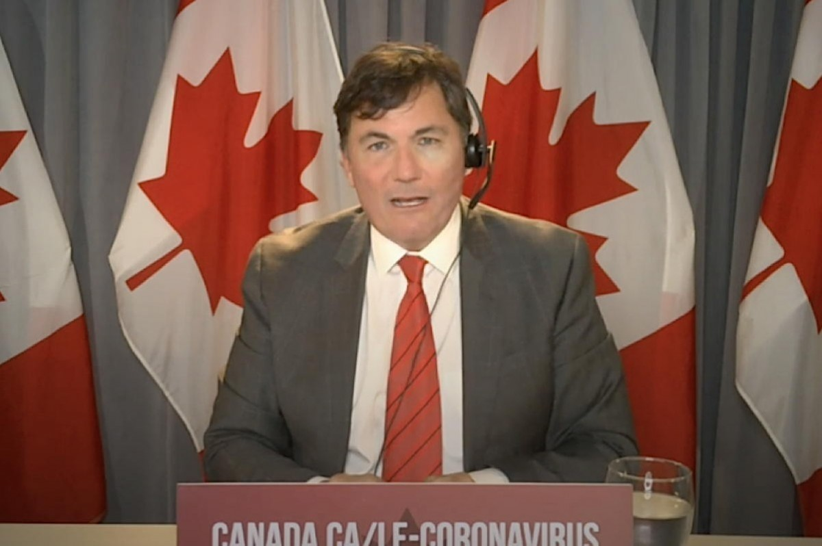 """Minister LeBlanc: Expect vaccine passports for int'l travel """"in the next couple of months"""""""
