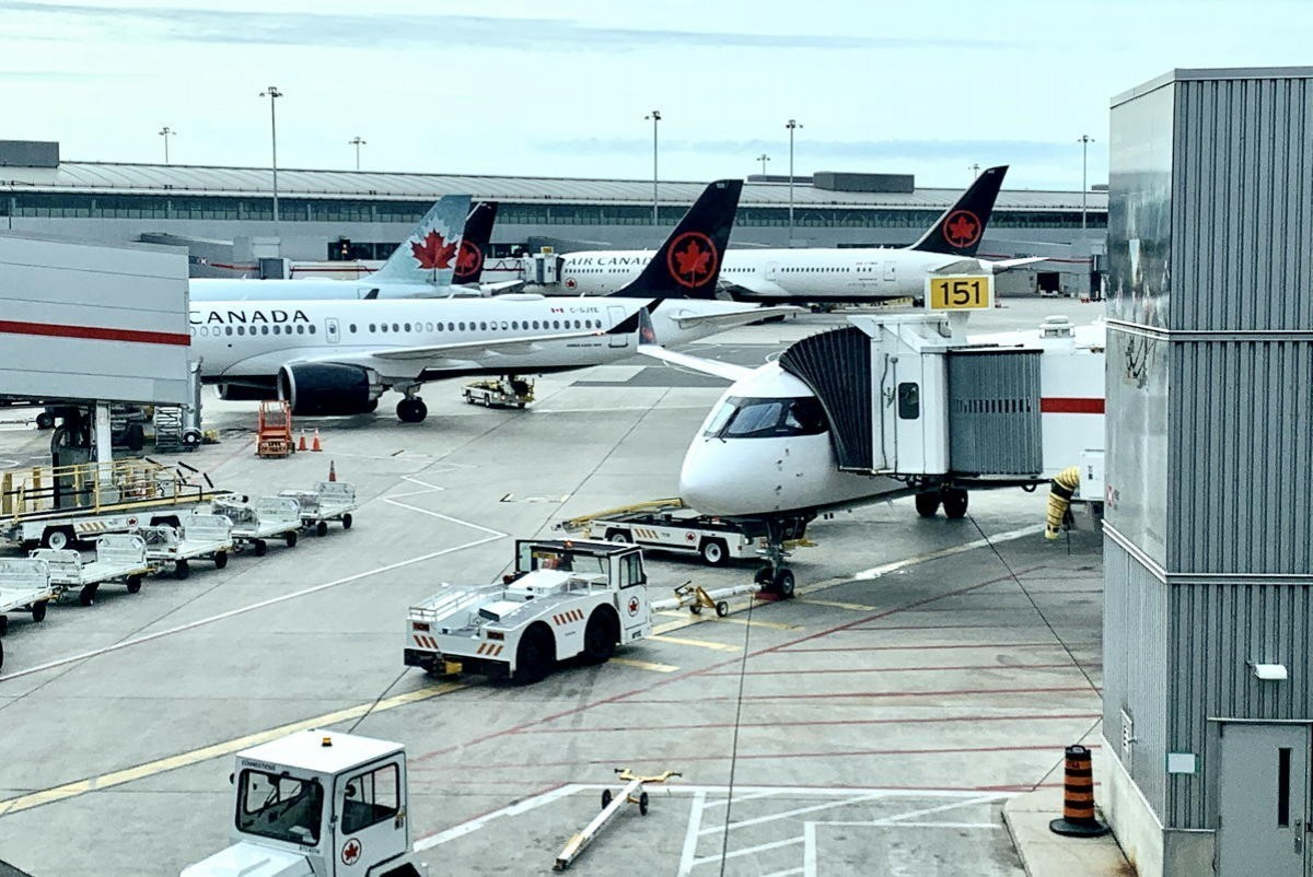 Air Canada changes check-in, baggage drop-off deadline at YYZ for int'l travel
