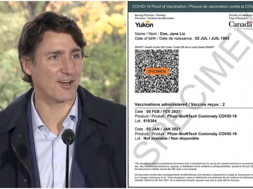Trudeau unveils int'l proof-of-vaccination for COVID-19, hints at easing more restrictions